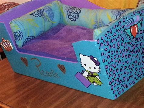kitty dog bed  pet bed home diy  cut