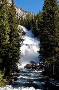 Hidden Falls Wyoming
