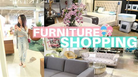 Furniture Shopping by Furniture Shopping For Our New Home Slmissglamvlogs