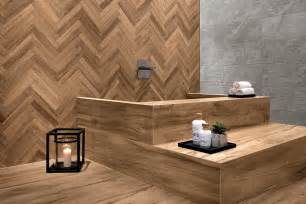 bathroom tile design wood look tile 17 distressed rustic modern ideas
