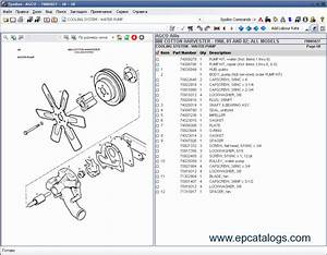 Agco Allis  Spare Parts Catalog  Heavy Technics   Repair