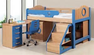 multifunctional kid s low loft bed w study desk set new mdmfkb n20 2069 1 081 00