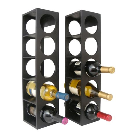 pictures of wine racks proman products wx1656 rutherford wine rack set of 2