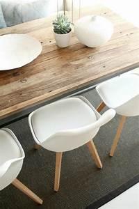 Table De Cuisine Et Chaises : la chaise de cuisine moderne en 62 photos inspirantes ~ Teatrodelosmanantiales.com Idées de Décoration