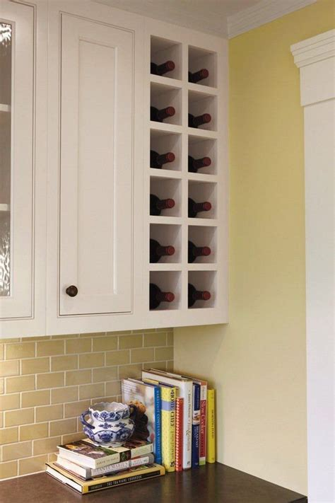 Wine Rack For Cupboard by Small Kitchen Wine Rack Ideas Space Saving Wine Rack