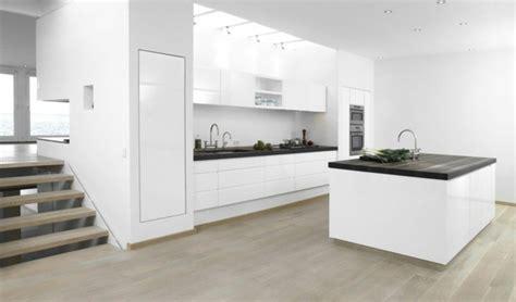 cuisines blanches design cuisine blanche des exemples très tendance