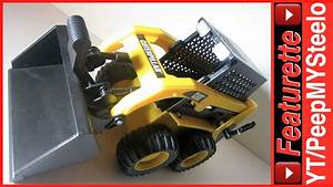 Caterpillar Toys Skid Steer Bulldozer W   Battery Powered