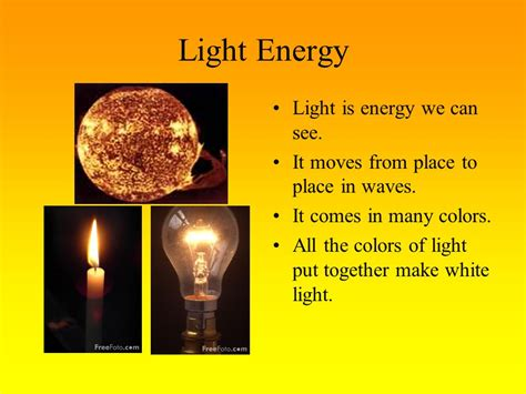 In Light Of What We by Ch 18 Forms Of Energy Vocabulary Ppt
