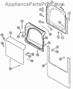 Parts For Maytag Mdg5500aww  Door Parts