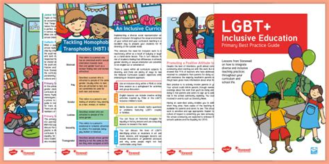 * New * Lgbt+ Inclusive Education Primary Best Practice Guide