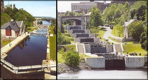 rideau canal a history of the rideau lockstations