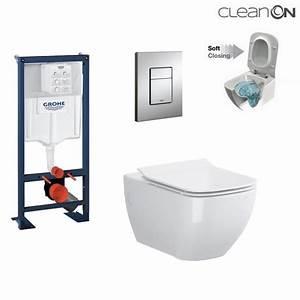 Wc Suspendu Sans Bride : wc grohe achat vente de wc grohe comparez les prix ~ Dailycaller-alerts.com Idées de Décoration