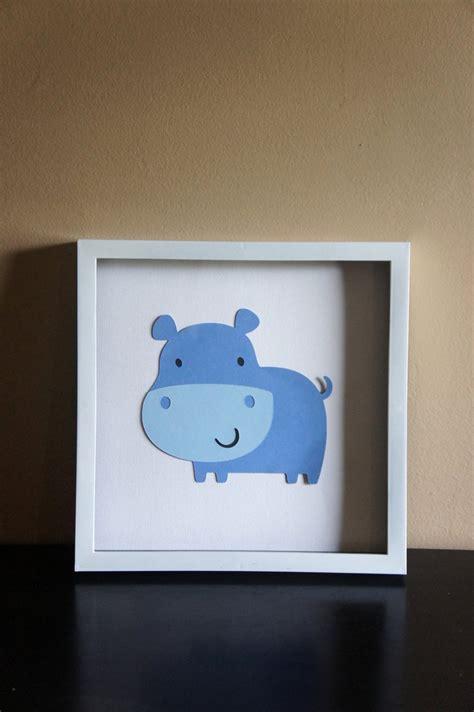 sale hippo wall art nursery decor 10 00 via etsy baby bauman pinterest nursery decor