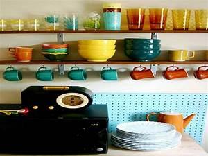 Etagere De Rangement Cuisine : etageres en bois comme rangement de cuisine vintage ~ Melissatoandfro.com Idées de Décoration