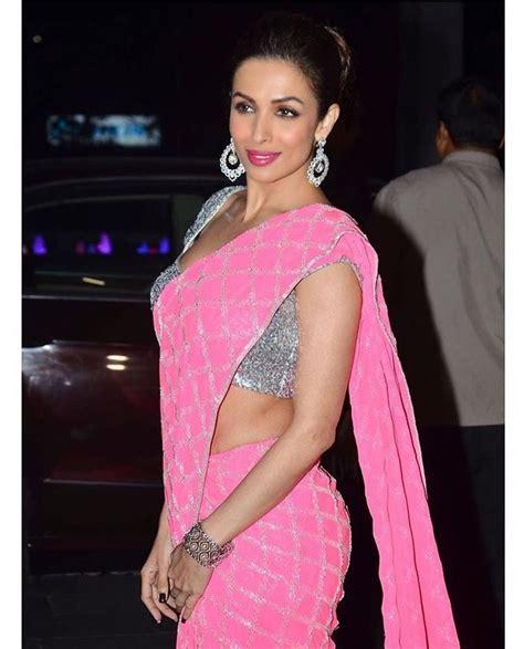 After her stint with mtv, malaika ventured. Malaika Arora looks stunning in THIS Pink Saree look ...