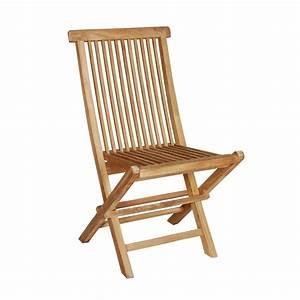 Chaise Jardin Bois : chaise de jardin en bois de teck midland bois dessus bois dessous ~ Teatrodelosmanantiales.com Idées de Décoration