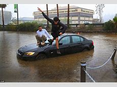 Darth Nino storm pummels California leaving drivers