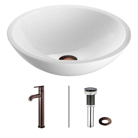 Vessel Sinks Home Depot by Rectangle Vessel Sinks Bathroom Sinks The Home Depot