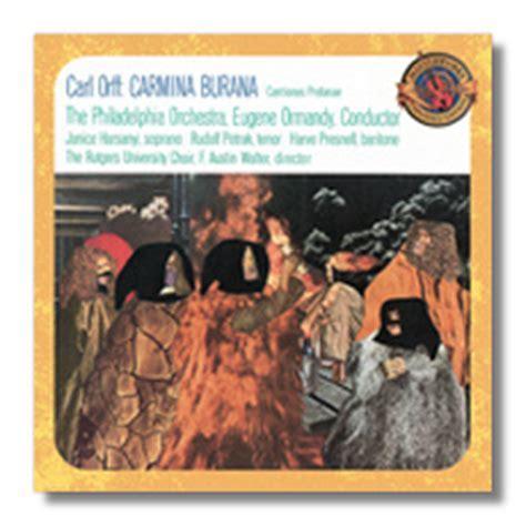 Classical Net Review   Maestrino   Orff   Carmina Burana
