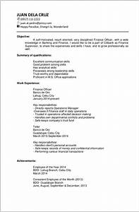Free resume templates no work experience resume resume for Free resume templates for no work experience
