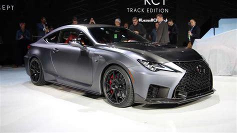 Lexus Is 2020 Reddit by 2020 Lexus Rc F Track Edition Debuts In Detroit Update
