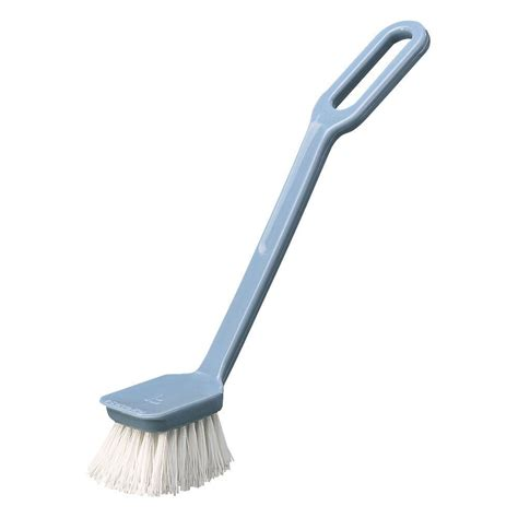 kitchen sink brush carlisle 8 in angled polyester dish and sink scrub brush 2596