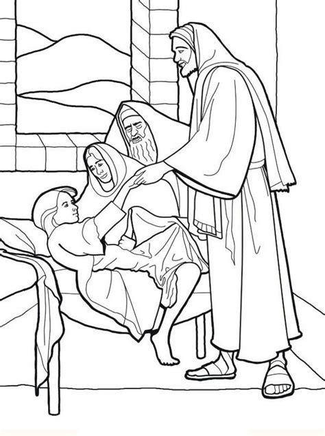 Het Dochtertje Jairus Kleurplaat by Bijbel In 1000 Seconden 13e Zondag Door Het Jaar B