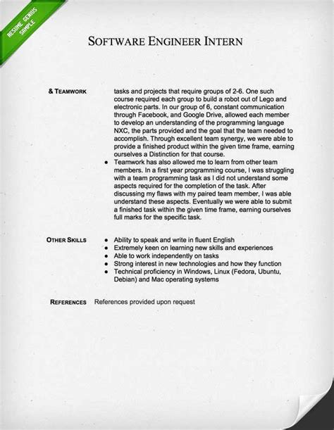 Cover Letter For Resume For Software Engineer With 2 Years Of Experience by Engineering Cover Letter Templates Resume Genius