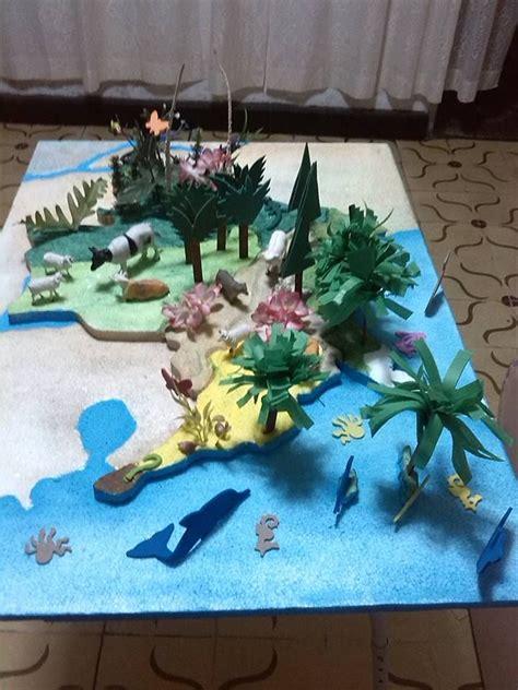 como hacer una maqueta de un ecosistema acuatico pin by anyesca serj on maqueta colombia y sus