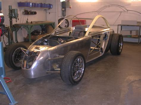 2005 Volvo T6 Roadster Hot Rod Concept Construction