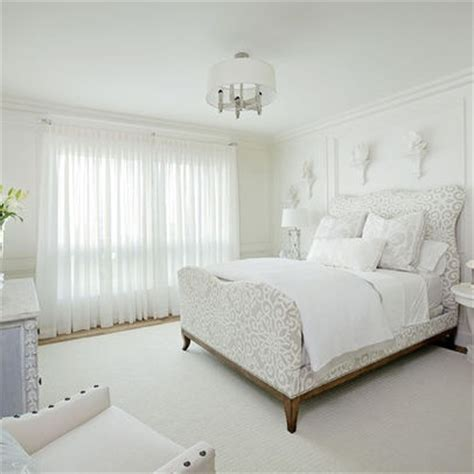 White Sheer Curtains for master bedroom