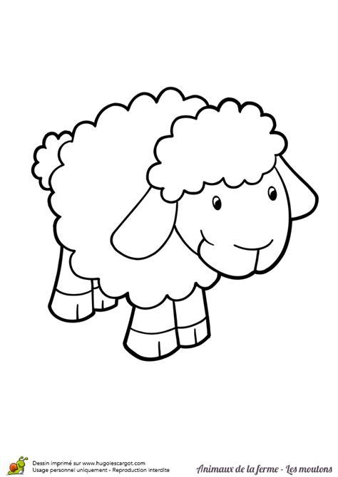 cuisine souris d agneau coloriage animaux de la ferme bebe mouton sur hugolescargot com hugolescargot com