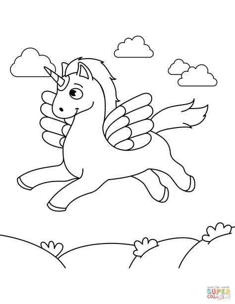 alicorn coloring page  printable coloring pages