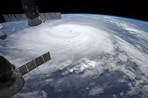 Hurricane Gonzalo Viewed From the International Space ...