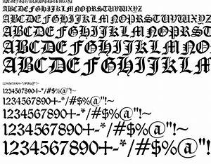 Old English Gothic font download free. Preview font Old ...