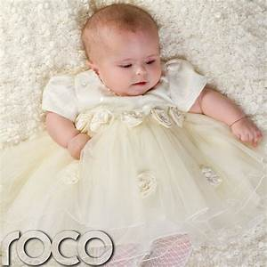 baby girls cream ivory dress wedding babys bridesmaid With baby dresses for weddings