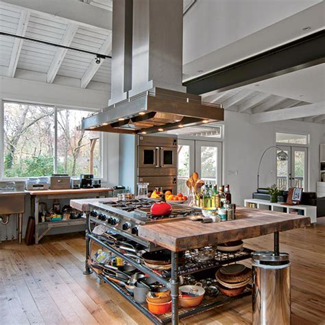 A DIY Kitchen Fit for a Cooking Pro   Food & Wine