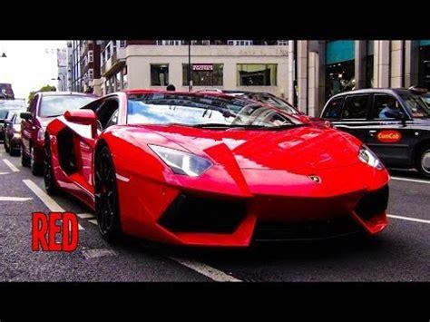 rosso mars lamborghini aventador  sports exhaust youtube
