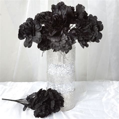 120 Pcs Silk Peony Flowers For Wedding Bouquets