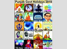 {{ 28 September Holiday in Punjab, Tomorrow Holiday in