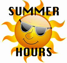 Image result for summer hours images