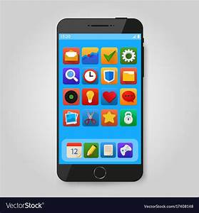 How to Create an Amazing smartphone icon * Techsmartest.com