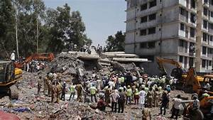 Indien: Illegal errichtetes Hochhaus stürzt ein – 47 Tote ...