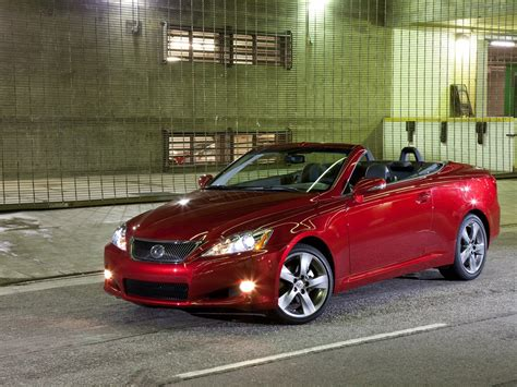 lexus convertible 2010 2010 lexus is convertible exotic car wallpaper 03 of 36