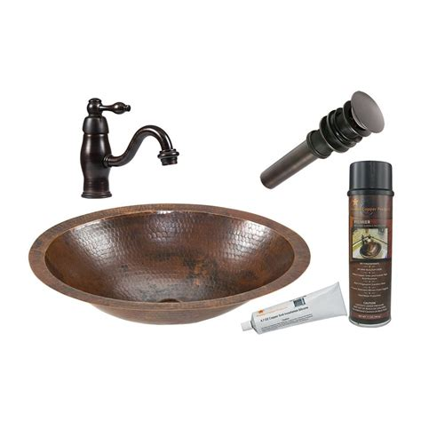 rubbed bronze undermount kitchen sink shop premier copper products rubbed bronze copper 8983