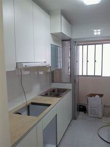 Country Kitchen Design For 4 Room Hdb Bto Flat In