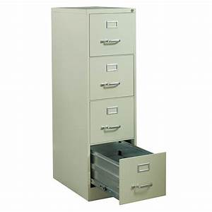 hirsh used letter sized 4 drawer vertical file putty With hirsh industries 4 drawer letter file cabinet in putty