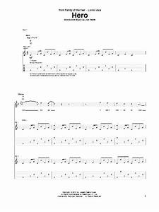 Hero Guitar Tab by Family Of The Year (Guitar Tab – 97848)