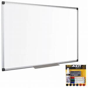 Tableau Blanc Magnétique : bi office tableau blanc maill 90 x 60 cm bi office kit magn tique tableau blanc et ~ Teatrodelosmanantiales.com Idées de Décoration