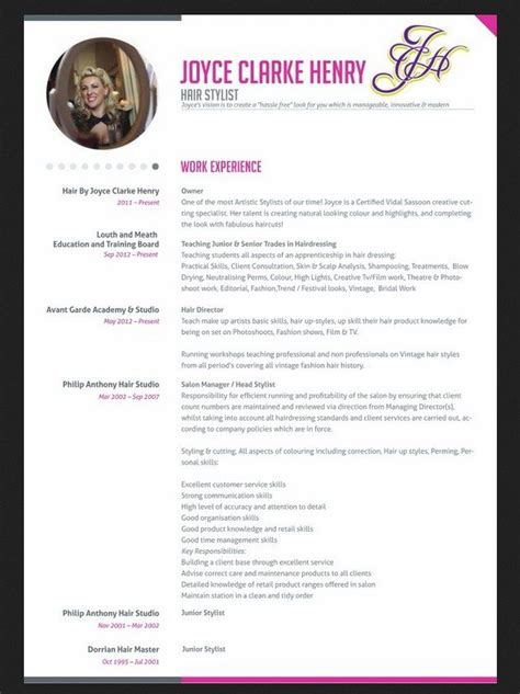 18237 resume exles for hairstylist professional hair stylist resume http jobresumesle